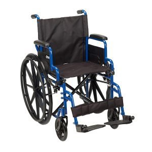 Blue Streak Wheelchair Rental - 20 Inch Seat