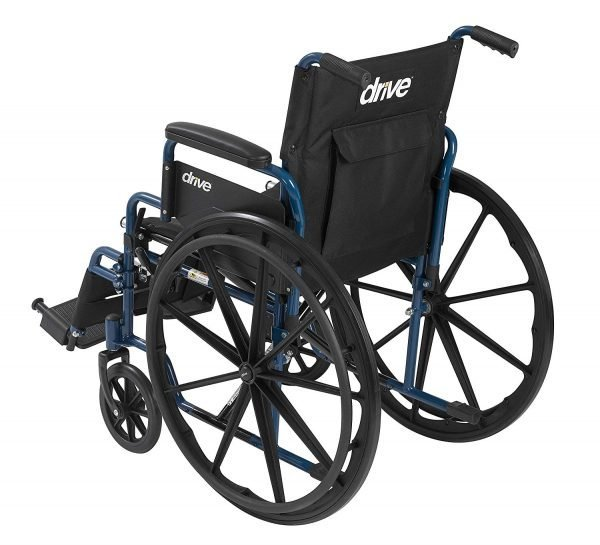 Wheelchair with Flip Back Desk Arms