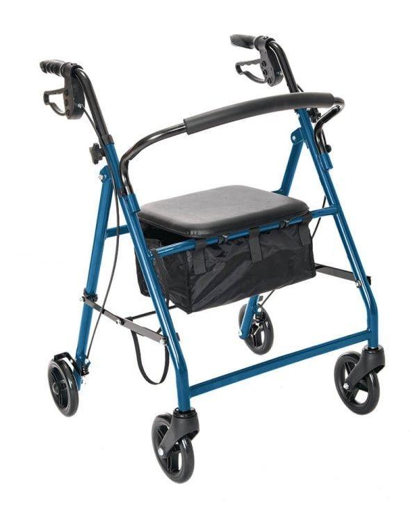 W1700B-14 Essential rollator blue